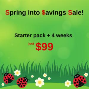 Spring into Savings Sale